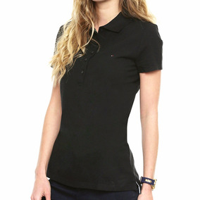 Playera Polo New Flag Mujer Tommy Hilfiger To196