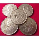 Moneda Plata Un Peso 1950 Morelos P131