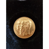 Medalla Conmemorativa Maximiliano Y Carlota 1866-67 Oro 24k