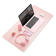 Pad Grande Xl 84x38cm Rosa Gamer Oficina Mouse Y Teclado Pc