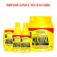 Kit Forever Liss Mealiza Shampoo Cond Levein Máscara 1kg