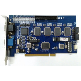Placa Captura Video Geovision Gv-650/800 V3.53 + Cabo