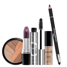 Kit Make B Maquiagem Metalico 5 Produtos O Boticario