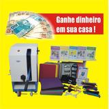 Maquina De Fazer Chinelos Completa C/ Kit Fresa (havainas)