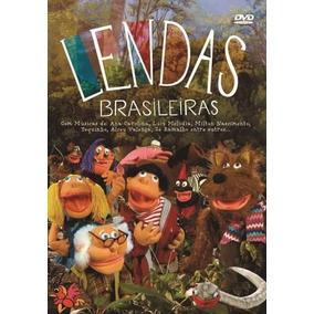 Dvd - Lendas Brasileiras - ( Lendas Do Folclóre ) - Dvd + Cd