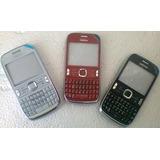 Carcasa Nokia Asha 302 Completa C/tapa De Bateria+teclado
