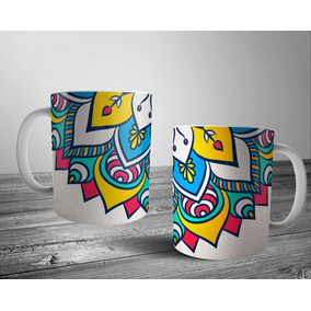 Diseños Para Tazas Mandalas