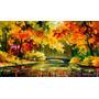 Little Bridge-pintura Al Oleo Del Maestro Leonid Afremov