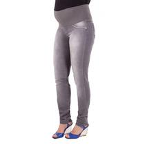Calça Jeans Gestante Skinny Bruna