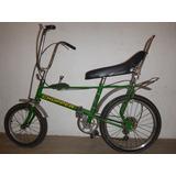 Dos Bicicleta Chopper Clasicas De Los Años 70y80 Verde Azul