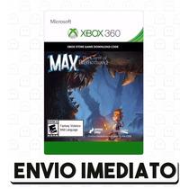Max: The Curse Of Brotherhood Xbox 360 Código De 25 Dígitos