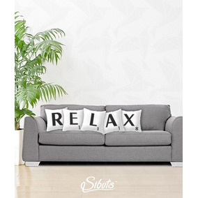 Cojín Decorativo Scrabble Diseño Relax