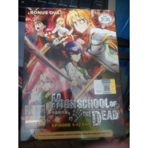 Serie Original De Anime Highschool Of The Dead(envio Gratis)