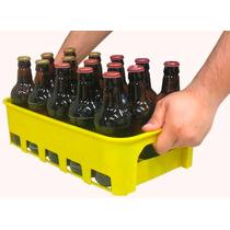 Caixa Engradado Amarela Para 15 Vasilhames De Cerveja 300ml