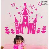 Adesivo Parede Infantil Castelo Da Princesa C/ Nome +barato!