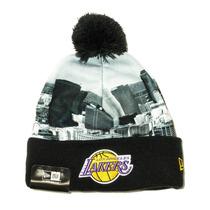 Los Angeles Lakers New Era Beanie Lana Pom My City Nba