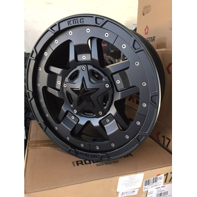Rines 17 6/139 Kmc Xd Series Rockstar 3 Toyota Chevrolet