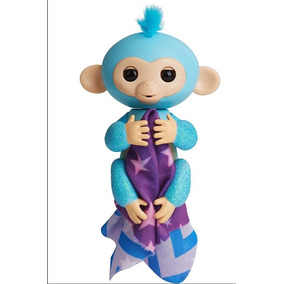 Fingerlings Glitter Mono Interactivo 40 Sonidos Original