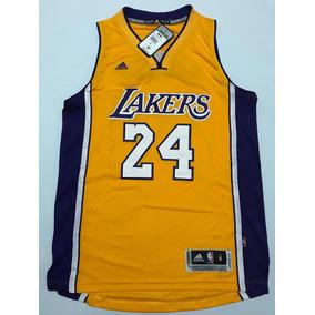 Camisa Los Angeles Lakers Bryant 24 Amarela Pronta Entrega · R  159 5dab772150753