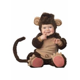 Disfraz Bebe Chango Niño Traje Changuito Mono Halloween