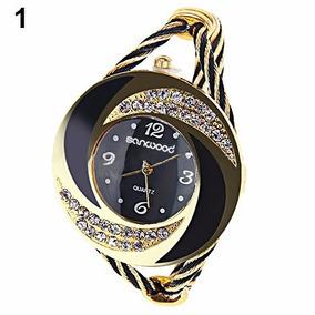 Relógio De Pulso Luxo Feminino Tipo Pulseira Bracelete