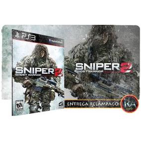 Jogo Ps3 Sniper Ghost Warrior 2 Play 3 Psn Mídia Digital
