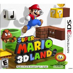 Super Mario 3d Land 3ds Novo Lacrado