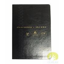 Bíblia Bilíngue Nvi - Português/inglês - Capa Luxo