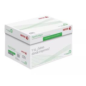Caja Papel Xerox Ecológico Carta 5,000 Hojas 75grs 90% Blanc