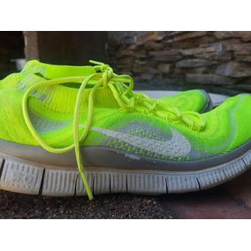 Zapatos Nike Free Flyknit Talla 9.5 (27.5 Cm)