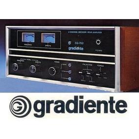Quadro 20x30+foto Digital Amplificador Gradiente Sq-700.