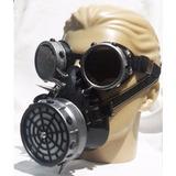 Conj Máscara/goggles Steampunk Gótico Cosplay Mad Max Punk