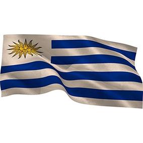 Bandera De Uruguay 90x60 Al Por Mayor - Minimo 100 Unidades