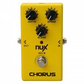 Pedal Nux Chorus Ch-3 + Plug 10 - Novo - Pronta Entrega