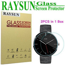 Raysun Un Paquete De 2 Motorola Moto 360 Reloj De Cristal Te
