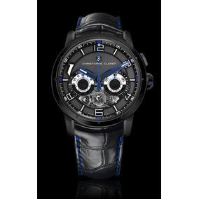 Quadro Relógio 20x30 C/ Moldura E Vidro + Christophe Claret