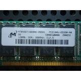 Memoria Ram M 128mb Originalpc2100 Ddr-266mhz