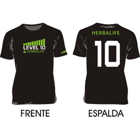 Herbalife_remera Level 10