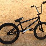 Bicicleta Bmx Rodado 20 Glint Expert Negro Laqueado Adulto