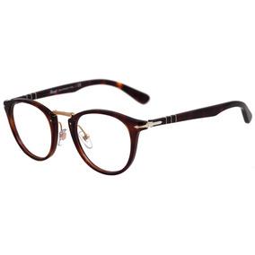 Persol Po 3107 V - Óculos De Grau 24 Marrom Mesclado Brilho