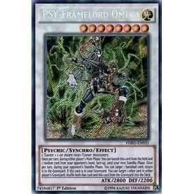 Psy Framelord Omega Hsrd-en035 Secret Original Yugioh