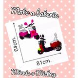 Moto A Batería Minnie O Mickey