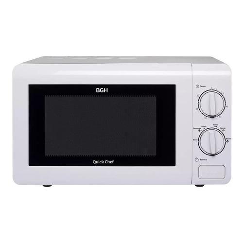 Microondas BGH Quick Chef B120M16   blanco 20L 220V