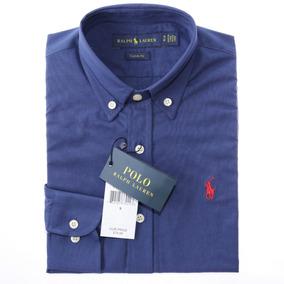 Kit 3 Camisas Sociais Ralph Lauren Custom Fit Masculina