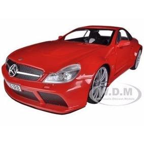Motormax - 1:18 - Mercedes Benz Sl65 Amg Red - El Errante