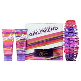 Set 3 Piezas Girlfriend Para Mujer De Justin Bieber Original