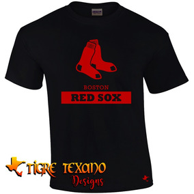 Playera Mlb Red Sox Boston Mod. H By Tigre Texano Designs