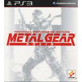 Metal Gear Solid One Español - Mza Games Ps3