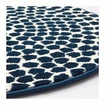 Alfombra redonda alfombras y carpetas en mercado libre for Ikea alfombra azul