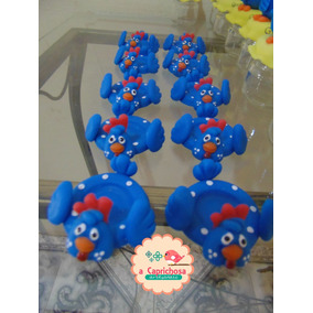 Porta Docinho Biscuit Galinha Pintadinha 2,50 A Unidade